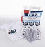 Baby Aspen Precious Cargo 3Pc Gift Set In Keepsake Train Box