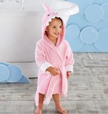 Baby Aspen Let The Fin Pink Shark Robe