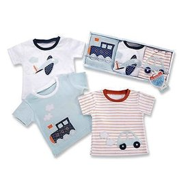 Baby Aspen The Adventure Begings Set Of 3 T-Shirts