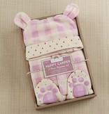 Baby Aspen Pink Fleece Pajama Set