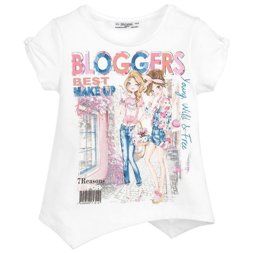 "MAYORAL Mayoral S/s ""Bloggers"" T-Shirts"