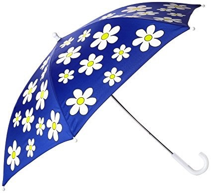Holly & Beau Navy Floral Color Changing Umbrella