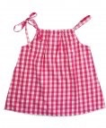 RUFFLE BUTTS Ruffle Butts  Gingham Pillow Tank