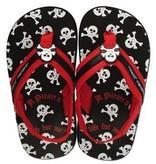 Stephen Joseph Pirate Flip Flops