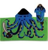 Stephen Joseph Octopus Pirate Hooded Towel