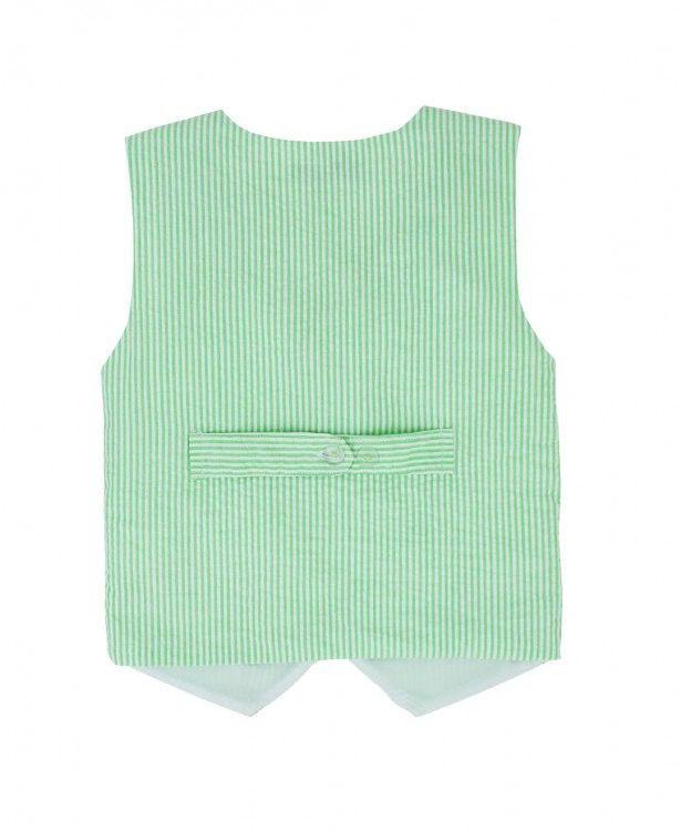 RUFFLE BUTTS Seersucker Vest