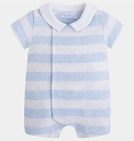 MAYORAL Mayoral Sky Striped Romper