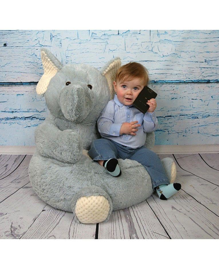 Stephan Baby Plush Elephant Chair ...
