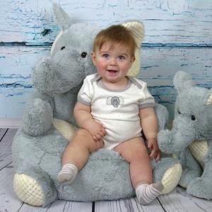 Stephan Baby Plush Elephant Chair