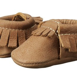 Freshly Picked Freshly Picked Newborn Moccasins Brown