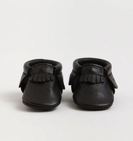 Freshly Picked Freshly Picked Newborn Moccasins Ebony