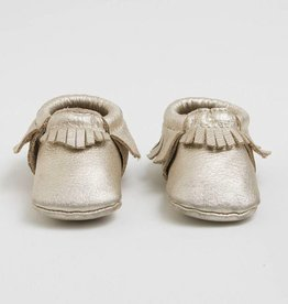 Freshly Picked Freshly Picked Newborn Moccasins Petite Planium