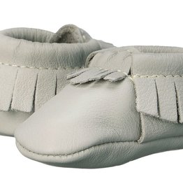 Freshly Picked Freshly Picked Newborn Moccasins Cashmere
