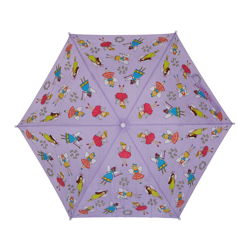 Holly & Beau Purple Fairy Color Changing Umbrella