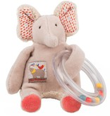 Moulin Roty Elephant Ring Bead Rattle