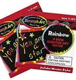MELISSA AND DOUG Rainbow Mini Art Notes