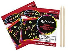 MELISSA AND DOUG Rainbow Mini Art Notes
