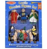 MELISSA AND DOUG Castle Wooden Figure Set
