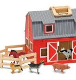 MELISSA AND DOUG Fold- N- Go Barn