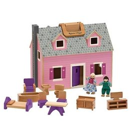 MELISSA AND DOUG Fold-N-Go House Dollhouse