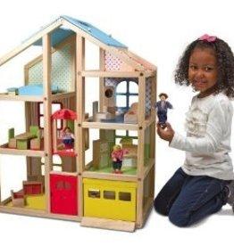 MELISSA AND DOUG Hi- Rise Dollhouse