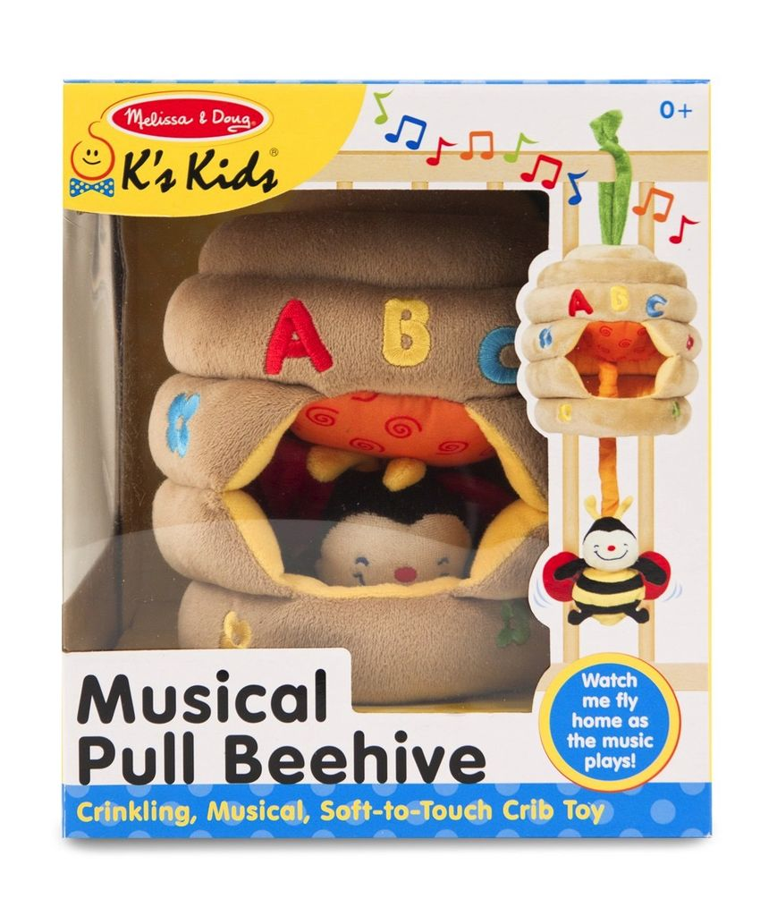 MELISSA AND DOUG Musical Pull Beehive