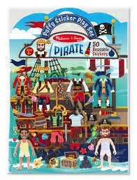 MELISSA AND DOUG Puffy Sticker Pirate