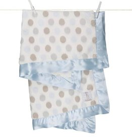 Little Giraffe Inc. Luxe Dot Blanket