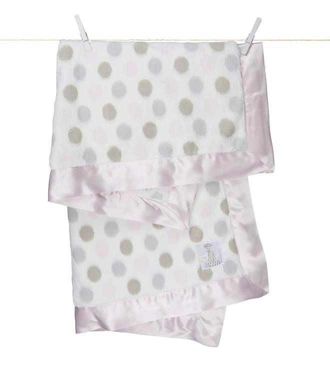 Little Giraffe Inc. Luxe Dot Blanket