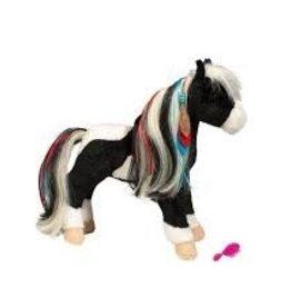 Douglas the Cuddle Toy Warrior Princess Horse w/brush