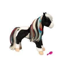 Douglas the Cuddle Toy Warrior Princess Horse w/brush