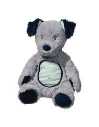Douglas the Cuddle Toy Blue Dog Plumpie
