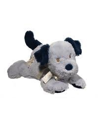 Douglas the Cuddle Toy Blue Dog Musical
