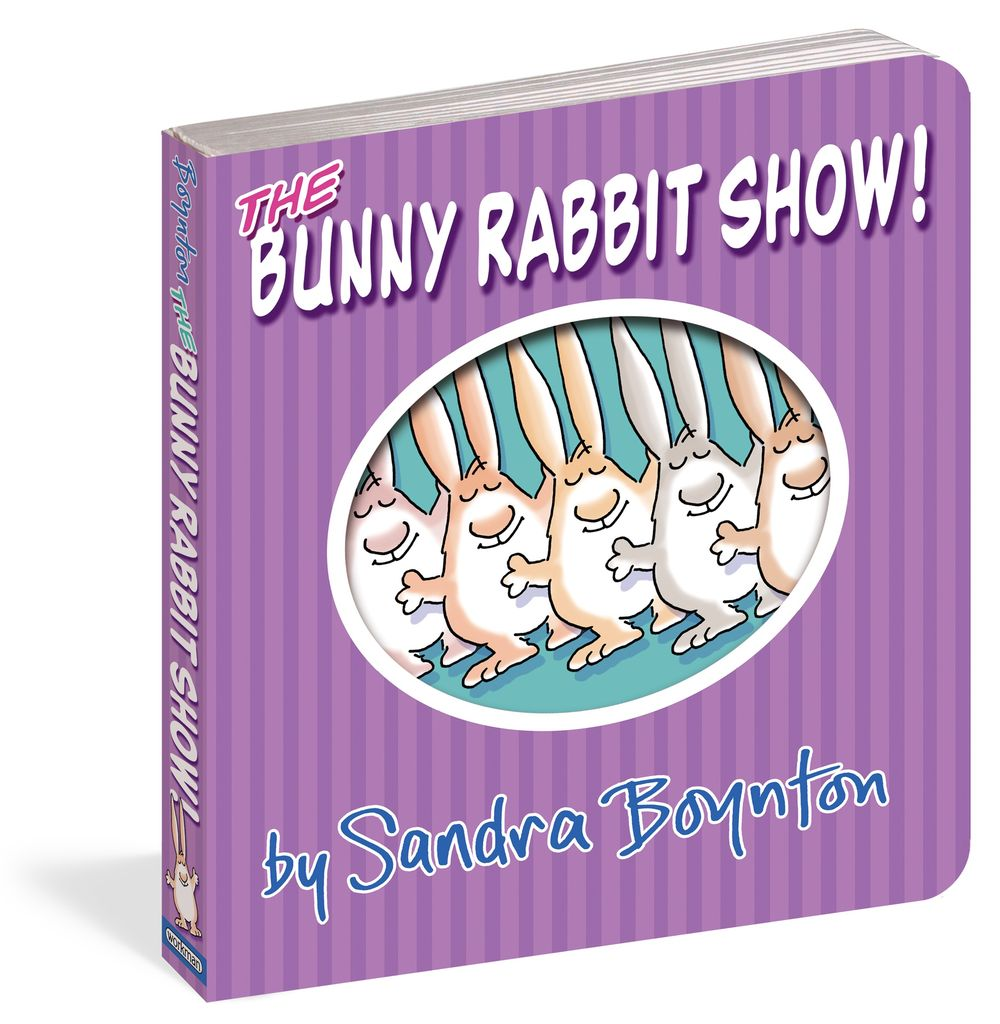 WORKMAN PUBLISHING Bunny Rabbit Show