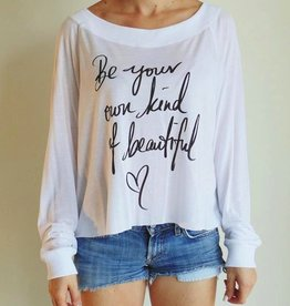 Jackie Z Be beautiful Tee Shirt