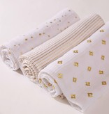 Aden and Anais Metallic 3 Pack Classic Swaddles