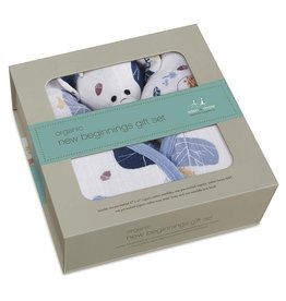 Aden and Anais Into The Woods Organic New Beginning Gift Set