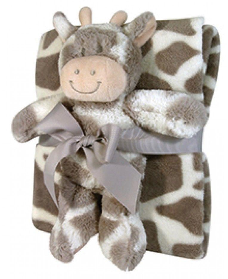 Baby Blanket/Toy Set Giraffe