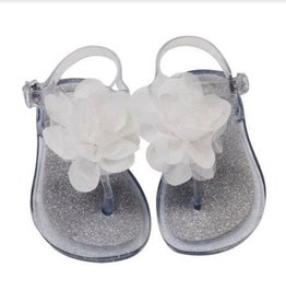 Baby Deer Walking Jelly Sandal w/Flower