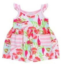 RUFFLE BUTTS Ruffle Butts Sweet Stems Stripe Dress