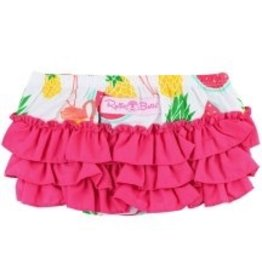 RUFFLE BUTTS Pineapple Picnic Bow-Front Swing Top Set