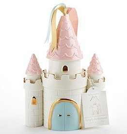 Baby Aspen Simply Enchanted Ceramic Castle Bank