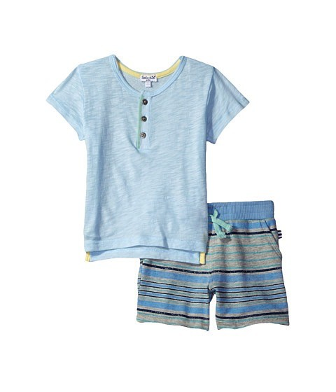 SPLENDID Colorblocked Shorts Set