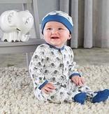 Baby Aspen Little Peanut Elephant Pajama Gift Set