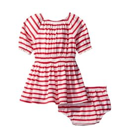 SPLENDID Off The Shoulder Stripe Dress