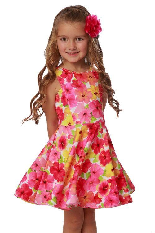 Biscotti-Kate Mack Floral Multi Dress