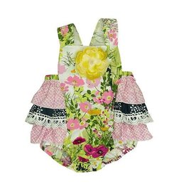HAUTE BABY Bouquet Sunsuit