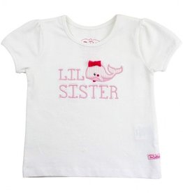 RUFFLE BUTTS Whale Lil Sis Tee