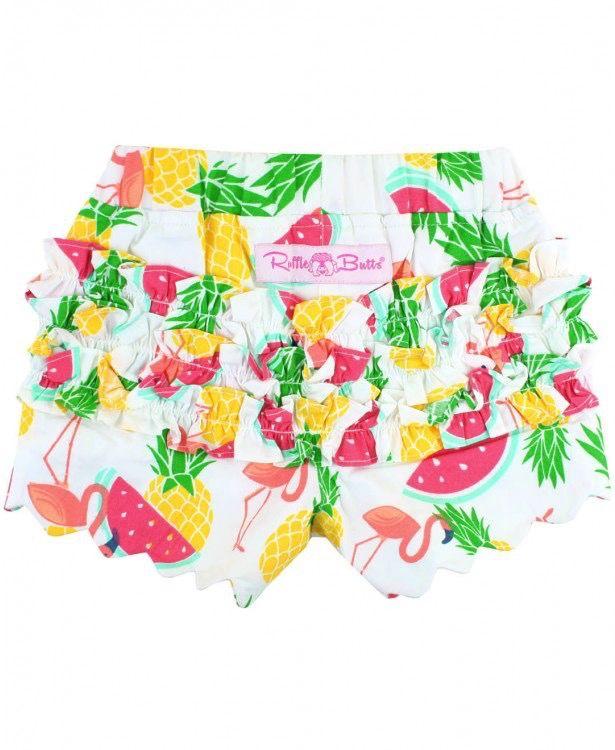 RUFFLE BUTTS Ruffle Butts Picnic Scallop Shorts