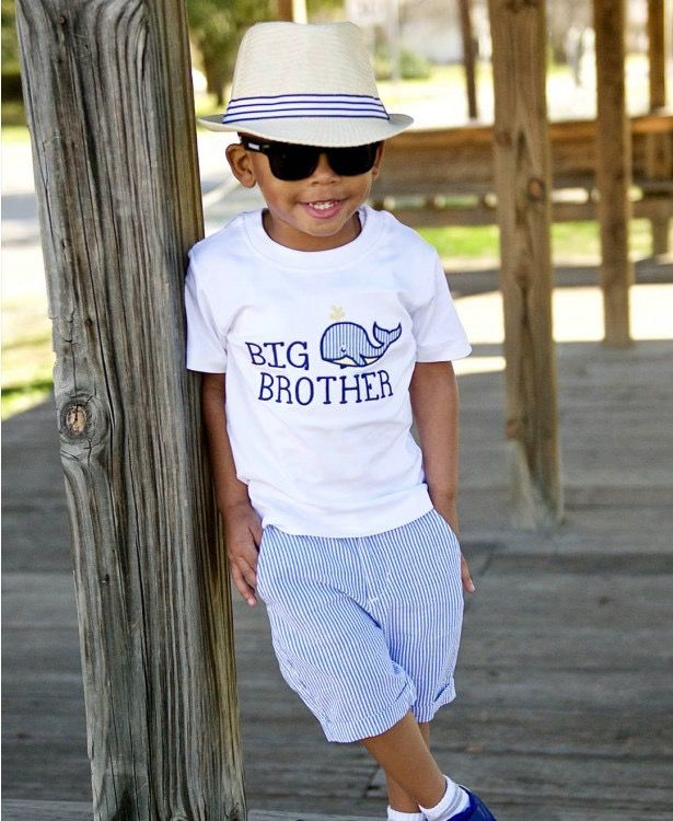 RUGGED BUTTS Rugged Butts Whale Big Bro Tee